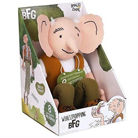 The BFG Soft Toy with Whizzpopping Sound Effects